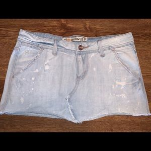 Mini Jeans Skirt Zara